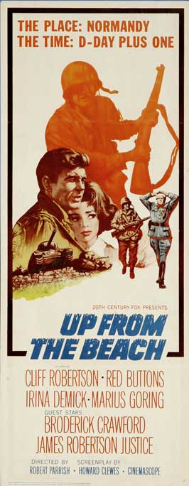 Up from the Beach - 14 x 36 Movie Poster - Insert Style A