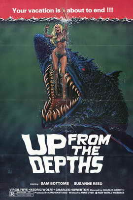Up from the Depths - 11 x 17 Movie Poster - Style A