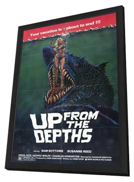 Up from the Depths - 11 x 17 Movie Poster - Style A - in Deluxe Wood Frame