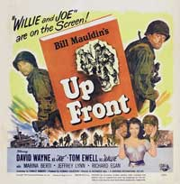 Up Front with Mauldin - 11 x 17 Movie Poster - Style A