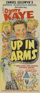Up In Arms - 13 x 30 Movie Poster - Australian Style B