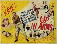 Up In Arms - 11 x 14 Movie Poster - Style A