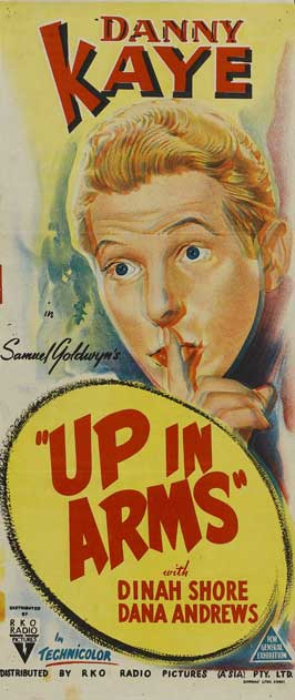 Up In Arms - 13 x 30 Movie Poster - Australian Style A
