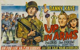 Up In Arms - 14 x 22 Movie Poster - Belgian Style A