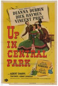 Up In Central Park - 11 x 17 Movie Poster - Style A