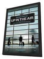 Up in the Air - 11 x 17 Movie Poster - Style A - in Deluxe Wood Frame