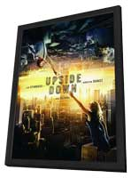 Upside Down - 27 x 40 Movie Poster - Style B - in Deluxe Wood Frame