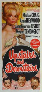 Upstairs and Downstairs - 13 x 30 Movie Poster - Australian Style A