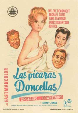 Upstairs and Downstairs - 11 x 17 Movie Poster - Spanish Style A
