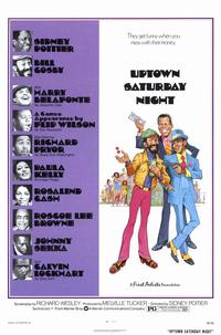 Uptown Saturday Night - 11 x 17 Movie Poster - Style A - Museum Wrapped Canvas