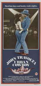 Urban Cowboy - 13 x 30 Movie Poster - Australian Style A
