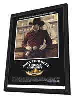 Urban Cowboy - 11 x 17 Movie Poster - Style A - in Deluxe Wood Frame