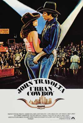 Urban Cowboy - 27 x 40 Movie Poster - Style C