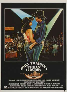 Urban Cowboy - 27 x 40 Movie Poster - French Style A