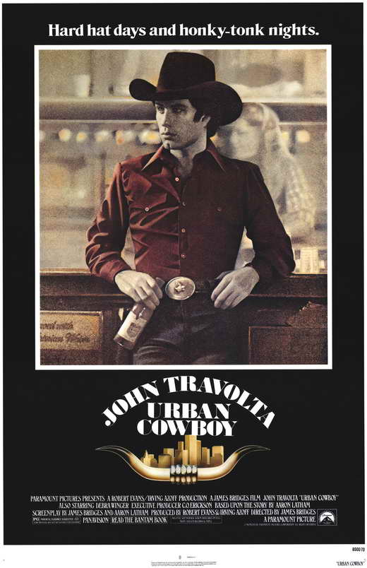 Urban Cowboy Movie Posters From Movie Poster Shop