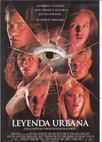 Urban Legend - 11 x 17 Movie Poster - Spanish Style A