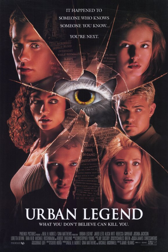 Urban Legend Movie Posters From Movie Poster Shop