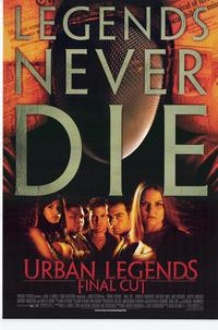 Urban Legends 2: Final Cut - 11 x 17 Movie Poster - Style A