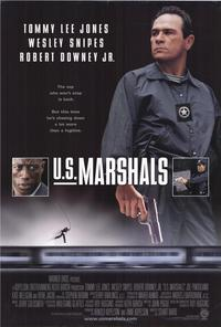 U.S. Marshals - 43 x 62 Movie Poster - Bus Shelter Style A