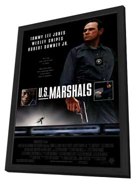 U.S. Marshals - 11 x 17 Movie Poster - Style A - in Deluxe Wood Frame