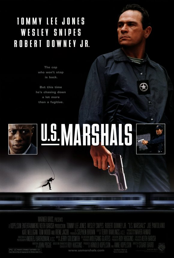 Us Marshals Movie Poster 1998 on marshalls shopping cart