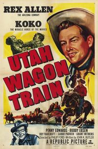 Utah Wagon Train - 11 x 17 Movie Poster - Style A