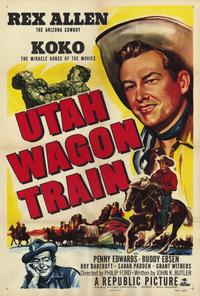 Utah Wagon Train - 27 x 40 Movie Poster - Style A