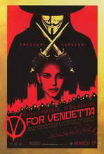 V for Vendetta - 27 x 40 Movie Poster - Style B
