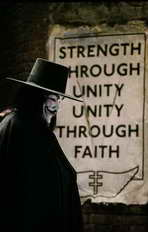 V for Vendetta - 11 x 17 Movie Poster - Style K