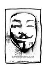 V for Vendetta - 11 x 17 Movie Poster - Style N