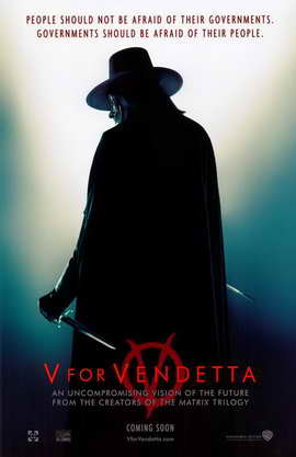 V for Vendetta - 11 x 17 Movie Poster - Style A