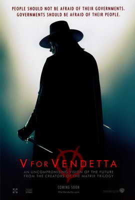 V for Vendetta - 27 x 40 Movie Poster - Style A