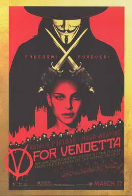 V for Vendetta - 11 x 17 Movie Poster - Style C