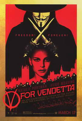 V for Vendetta - 27 x 40 Movie Poster