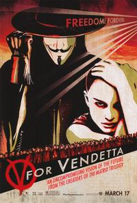 V for Vendetta - 11 x 17 Movie Poster - Style E