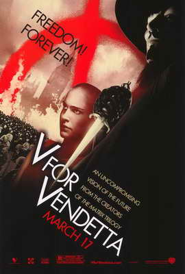 V for Vendetta - 27 x 40 Movie Poster - Style E