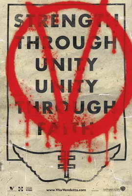V for Vendetta - 27 x 40 Movie Poster - Style M