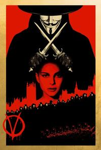 V for Vendetta - 11 x 17 Movie Poster - Style O