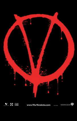 V for Vendetta - 11 x 17 Movie Poster - Style H