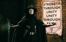 V for Vendetta - 11 x 17 Movie Poster - Style L
