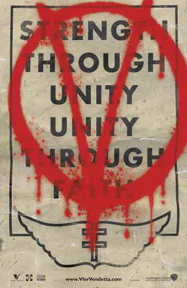 V for Vendetta - 11 x 17 Movie Poster - Style M