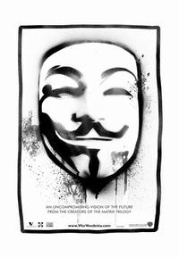 V for Vendetta - 43 x 62 Movie Poster - Bus Shelter Style D
