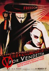 V for Vendetta - 43 x 62 Movie Poster - Bus Shelter Style E