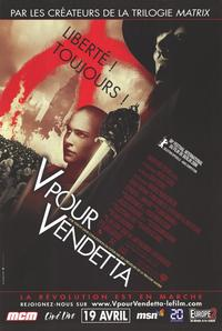 V for Vendetta - 11 x 17 Movie Poster - French Style A