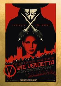 V for Vendetta - 11 x 17 Movie Poster - German Style A