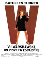 V.I. Warshawski - 11 x 17 Movie Poster - French Style A