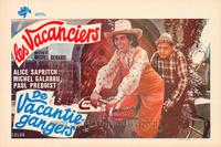 Vacanciers, Les - 11 x 17 Movie Poster - Belgian Style A