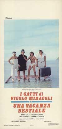 Vacanza bestiale, Una - 13 x 28 Movie Poster - Italian Style A