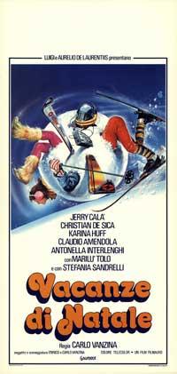 Vacanze di Natale - 13 x 28 Movie Poster - Italian Style A