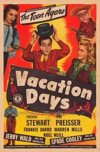 Vacation Days - 11 x 17 Movie Poster - Style A